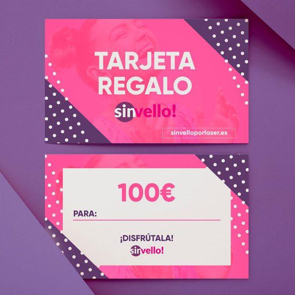 Tarjeta Regalo Sin Vello! 100€