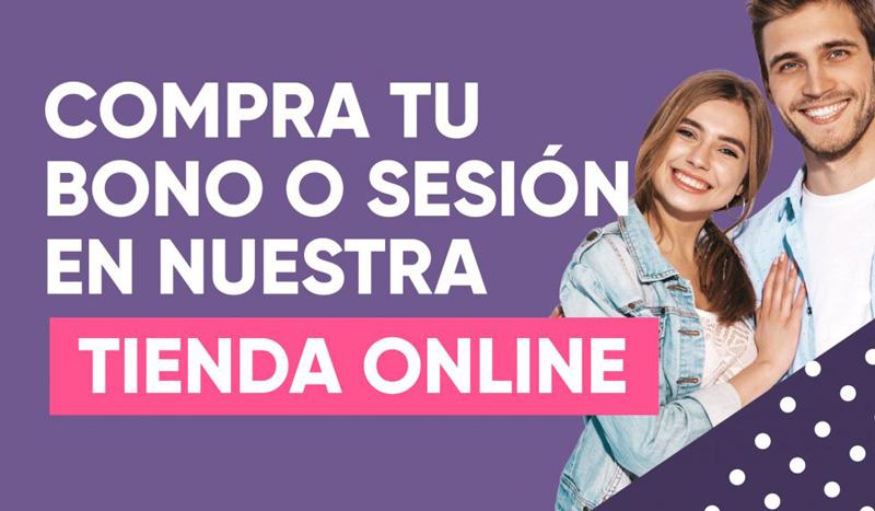 Compra tu bono o sesión en nuestra tienda online