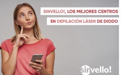 SinVello!, mejores centros en depilación láser